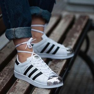 Adidas original metal toe sneaker